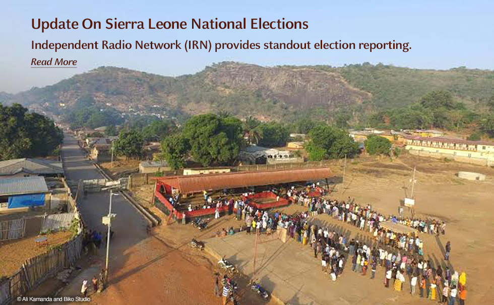 Update On Sierra Leone National Elections